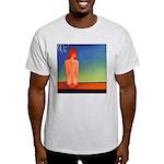 38.self love..? Ash Grey T-Shirt