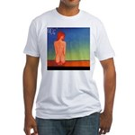 38.self love..? Fitted T-Shirt