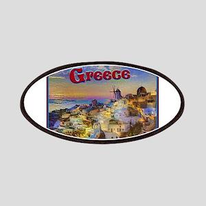 Santorini Greece Patch