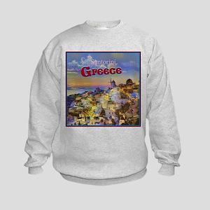 Santorini Greece Sweatshirt