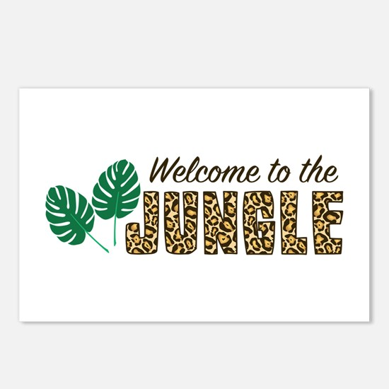 Welcome To Jungle Postcards (Package of 8)