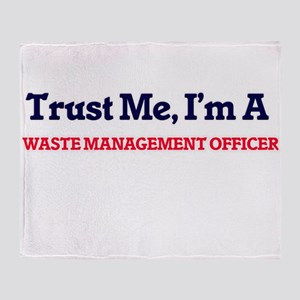 Trust me, I'm a Waste Management Off Throw Blanket