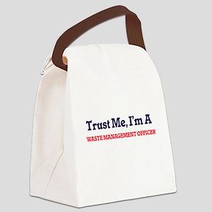 Trust me, I'm a Waste Management Canvas Lunch Bag