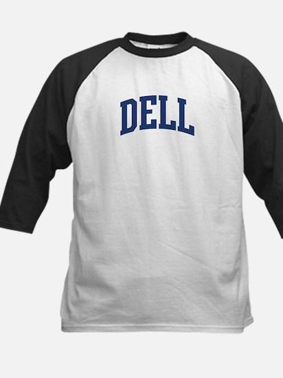 DELL design (blue) Kids Baseball Jersey