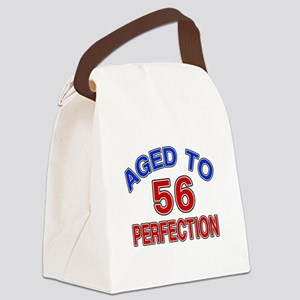 56 Aged To Perfection Canvas Lunch Bag
