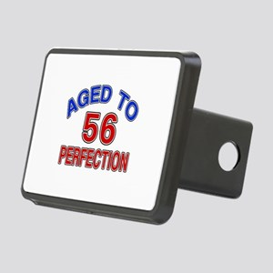 56 Aged To Perfection Rectangular Hitch Cover