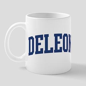 DELEON design (blue) Mug