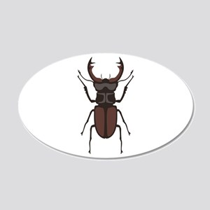 Stag Beetle Wall Decal