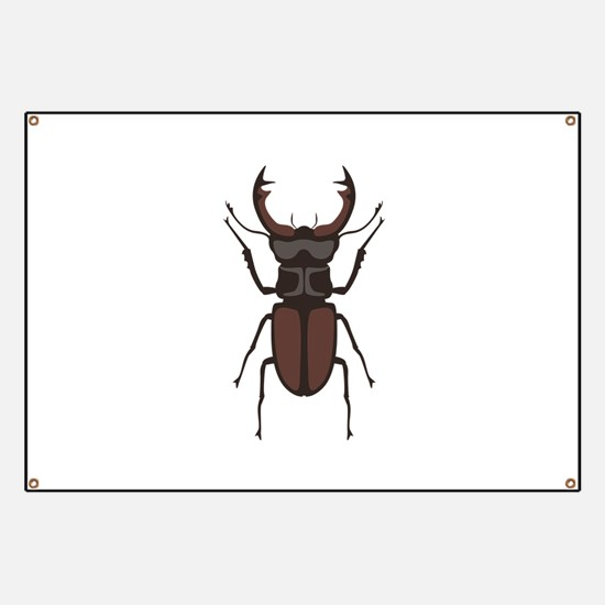 Stag Beetle Banner