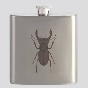 Stag Beetle Flask