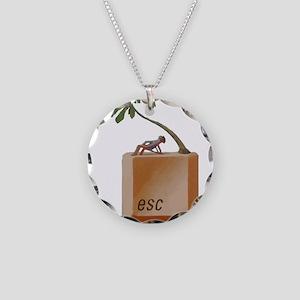 ESCAPE Necklace Circle Charm