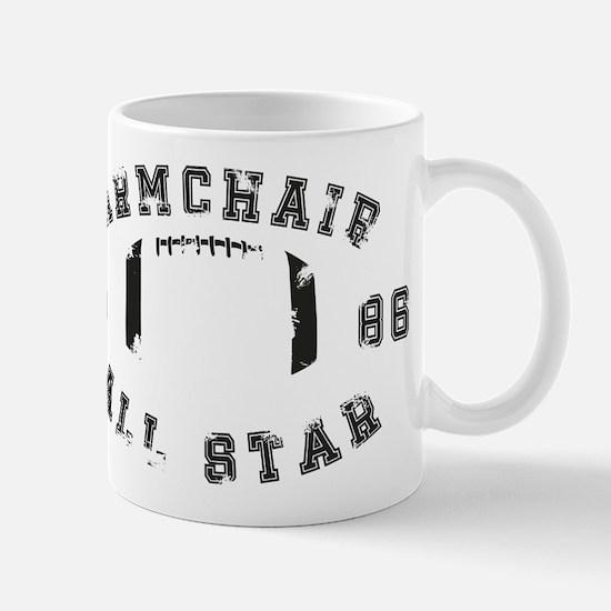 Armchair All Star Football Mugs
