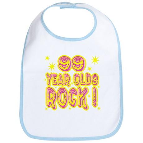 99 Year Olds Rock ! Bib