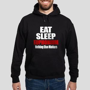 Eat Sleep Euphonium Hoodie (dark)