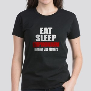 Eat Sleep Euphonium Women's Dark T-Shirt