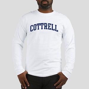 COTTRELL design (blue) Long Sleeve T-Shirt