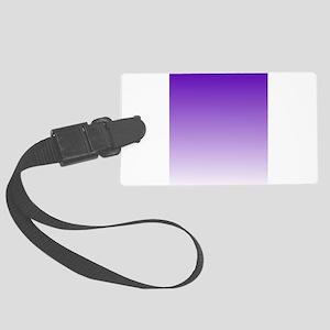 purple to white square Luggage Tag
