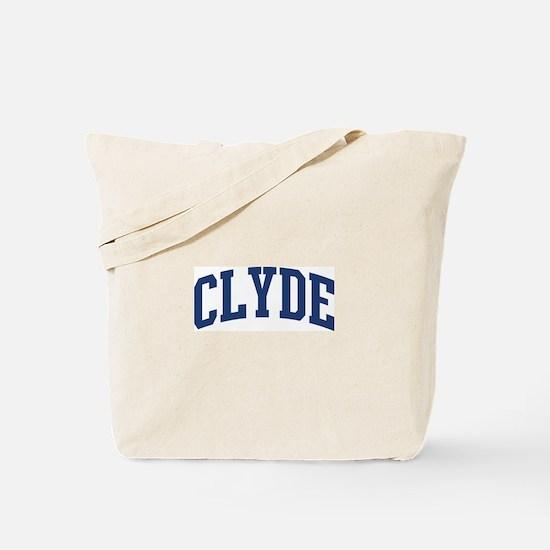 CLYDE design (blue) Tote Bag