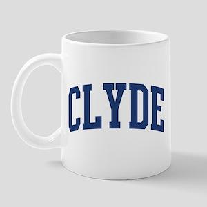CLYDE design (blue) Mug