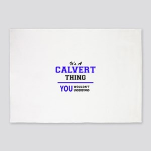 It's CALVERT thing, you wouldn't un 5'x7'Area Rug