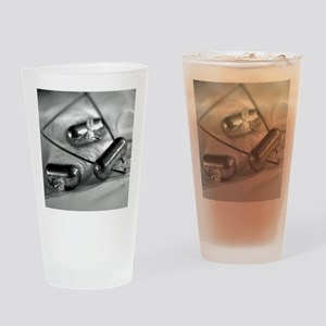Crab Lines Drinking Glass