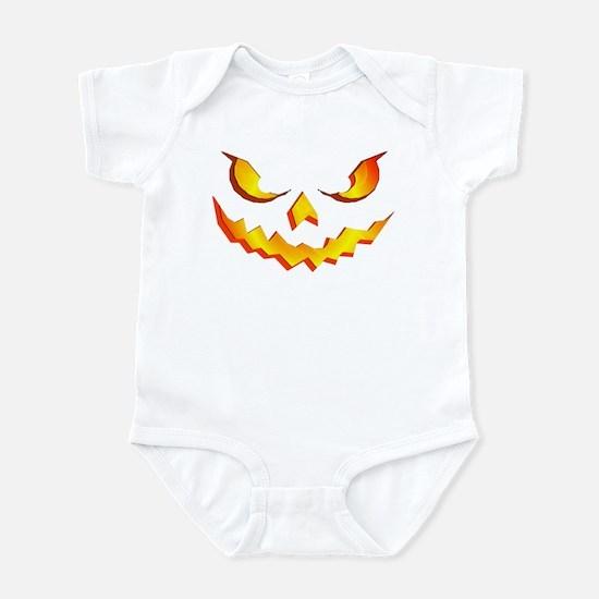 Halloween Pumpkin Face Infant Bodysuit