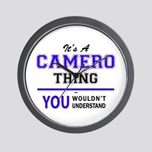 It's CAMERO thing, you wouldn't underst Wall Clock