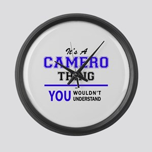 It's CAMERO thing, you wouldn't u Large Wall Clock