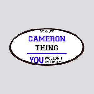 It's CAMERON thing, you wouldn't understand Patch