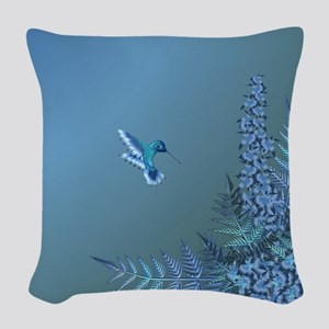 Iridescent Instant Woven Throw Pillow