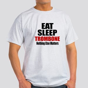 Eat Sleep Trombone Light T-Shirt