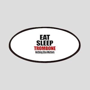 Eat Sleep Trombone Patch