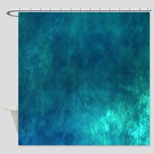 Iridescent Instant Shower Curtain