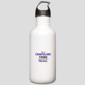 It's CAMPOLINA thing, Stainless Water Bottle 1.0L