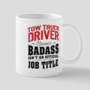 Tow Truck Driver Badass Mugs
