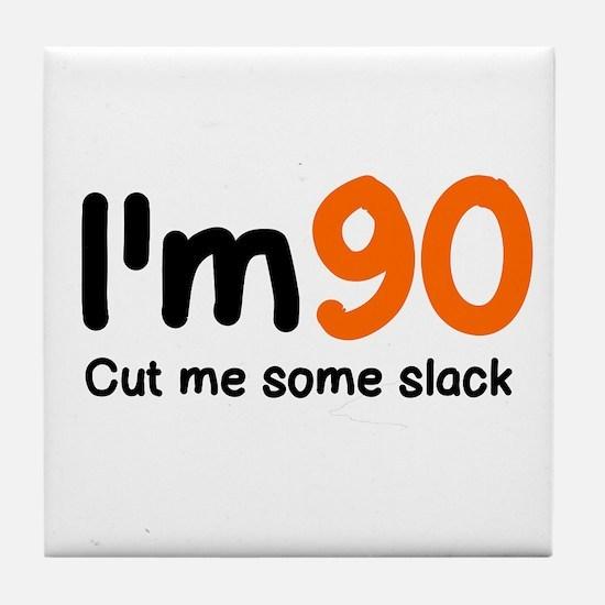 Cute Slack Tile Coaster