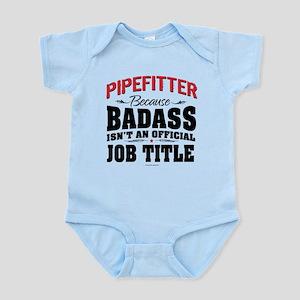 Badass Pipefitter Job Title Body Suit