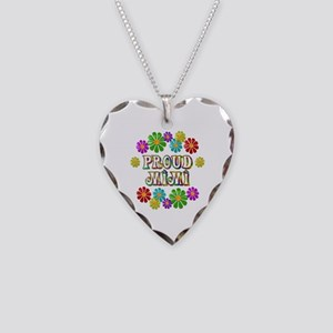Proud Mimi Necklace Heart Charm
