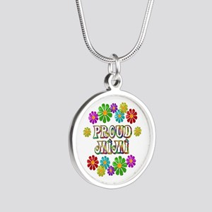 Proud Mimi Silver Round Necklace