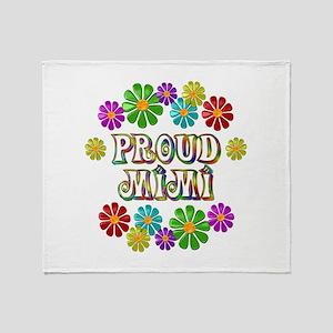 Proud Mimi Throw Blanket
