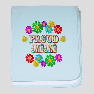 Proud Mimi baby blanket
