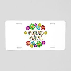 Proud Mimi Aluminum License Plate