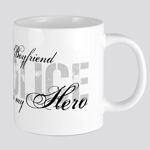 My Boyfriend is My Hero - POLICE Mugs