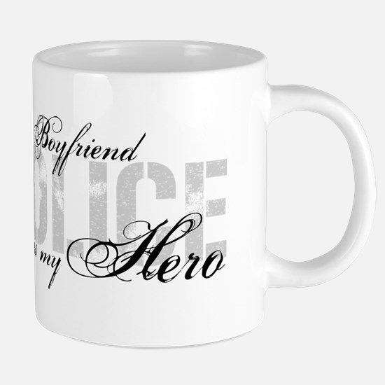 My Boyfriend is My Hero - POLICE Mugs