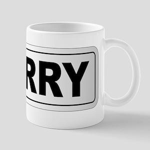 Derry City Nameplate Mugs