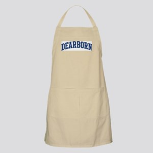 DEARBORN design (blue) BBQ Apron