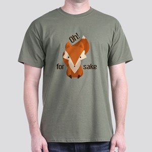 Oh For Fox Sake Dark T-Shirt