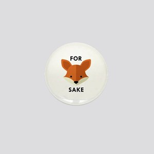 Oh! For Fox Sake Mini Button
