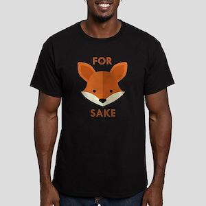 Oh! For Fox Sake Men's Fitted T-Shirt (dark)