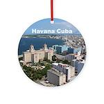 Havana (Cuba) Round Ornament